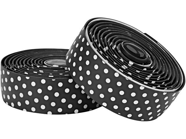 Bontrager Gel Cork Graphic Handlebar Tape white/black